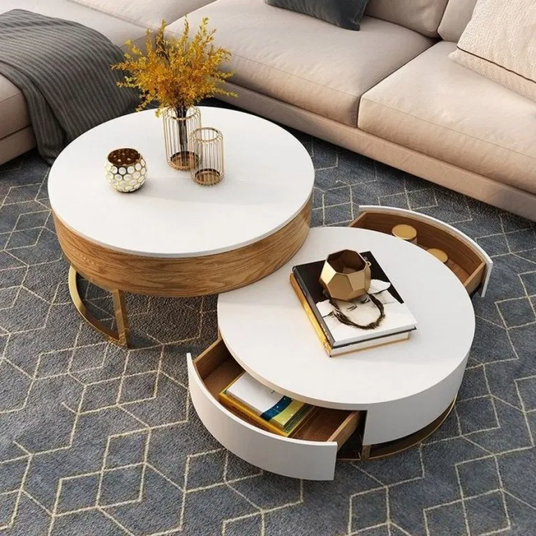 55 Best Round Coffee Table Living Room With Scandinavian Style Round Coffee Table Modern Round Coffee Table Living Room Coffee Table Wood