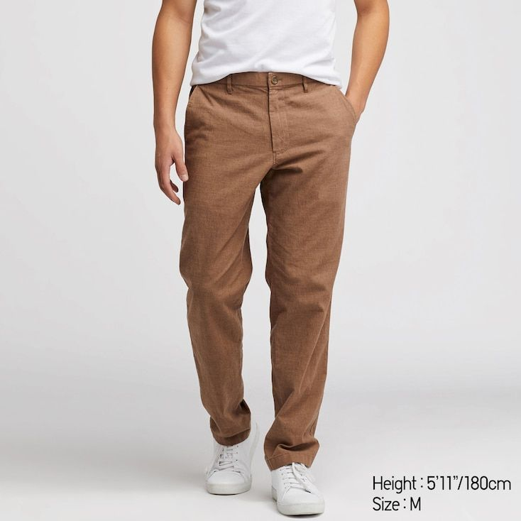 énorme réduction 1f297 896f1 Pantalon relax coton-lin homme in 2019 | Fly to death ...