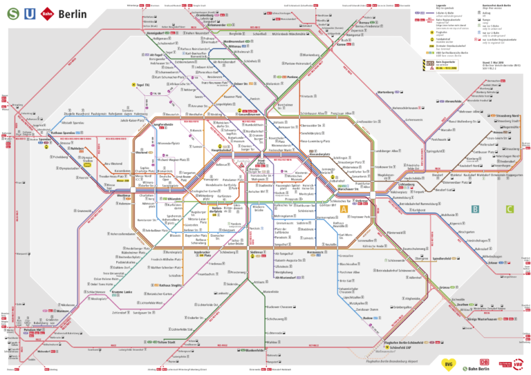 Moving Around Berlin Public Transport And Maps Clara On The Road In 2020 Metro Map Subway Map Transport Map