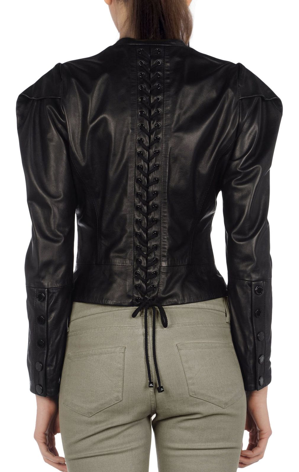 long leather jackets for women Google Search Leather