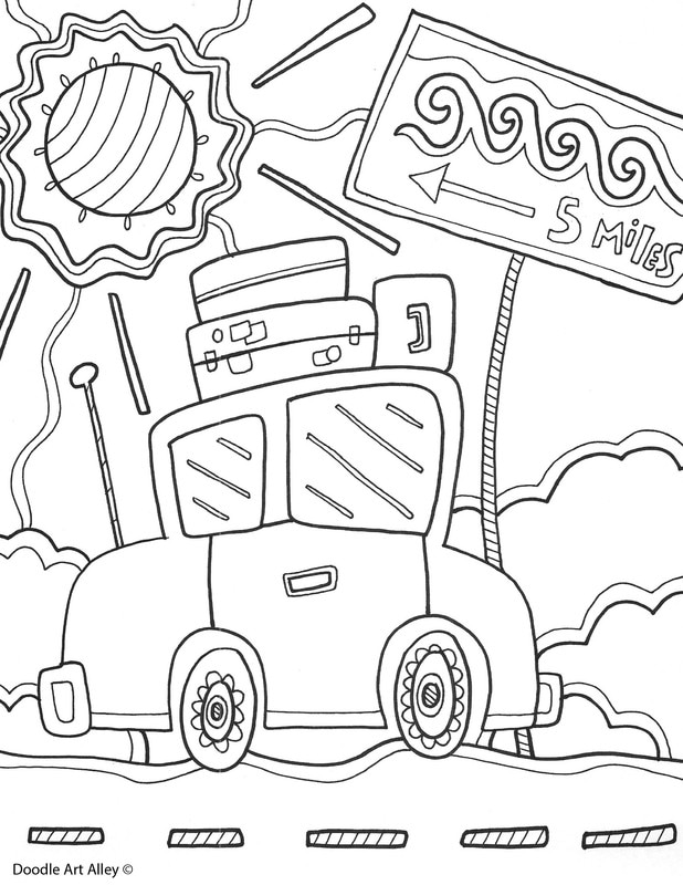 Family Reunion Coloring Pages Doodle Art Alley Summer Coloring Pages Coloring Pages Unicorn Coloring Pages