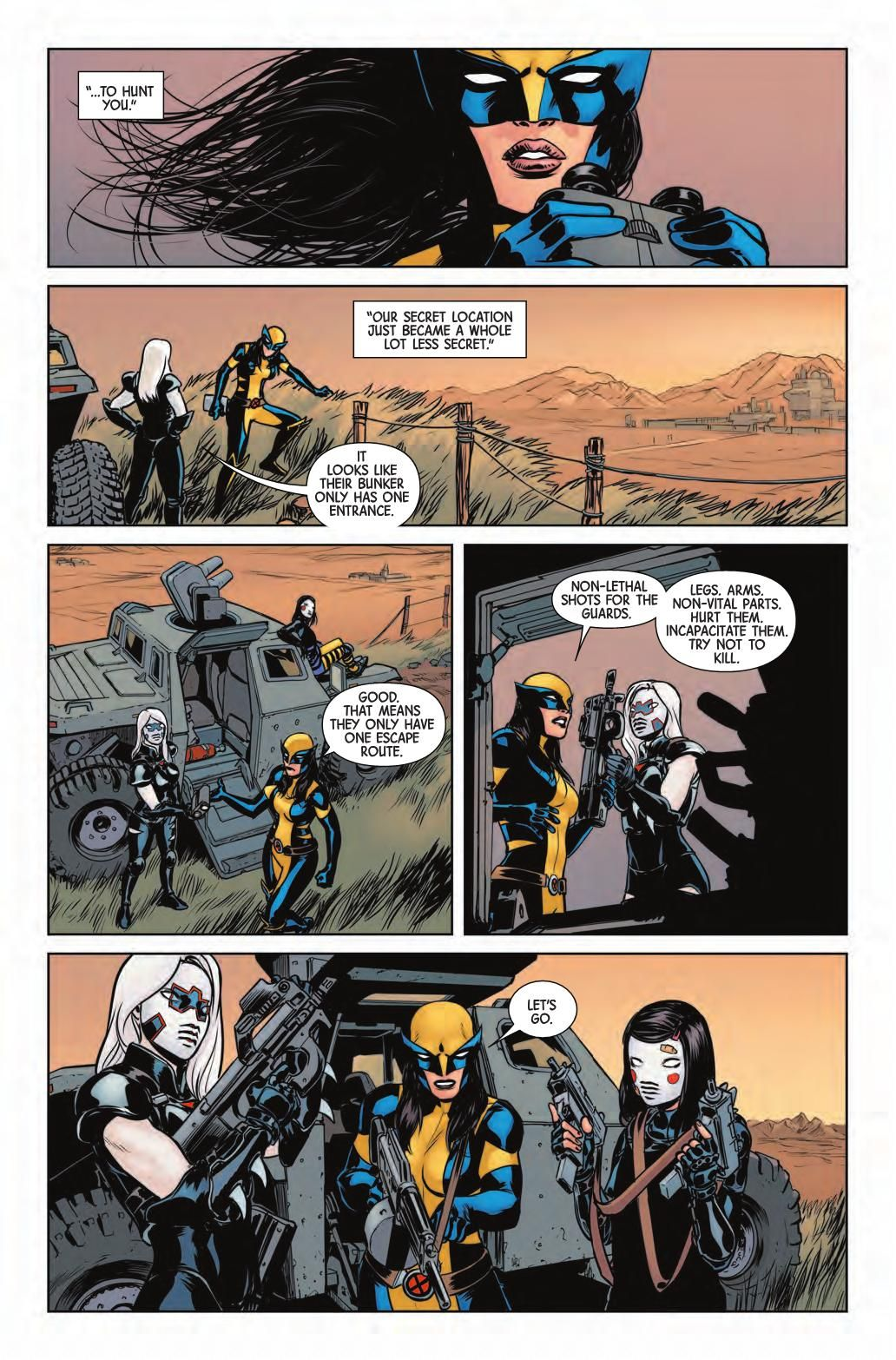 Preview: All-New Wolverine #6, Story: Tom Taylor Art: David Lopez Covers: Bengal & Vanesa Del Rey Publisher: Marvel Publication Date: March 9th, 2016 Price: $3.99  ...,  #All-Comic #All-ComicPreviews #ALL-NEWWOLVERINE #Bengal #Comics #DavidLopez #Marvel #previews #TomTaylor #VanesaDelRey