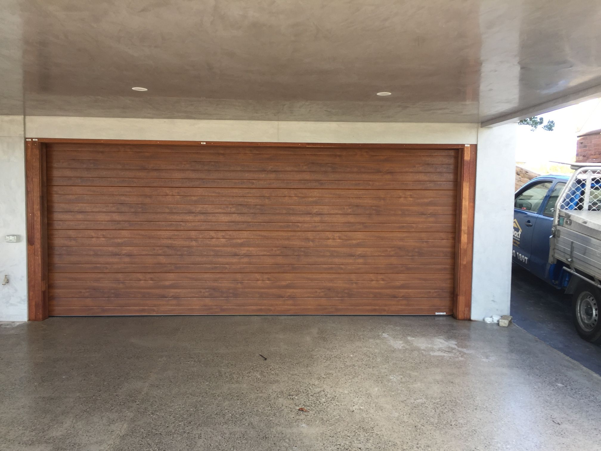 Thermofine Insulated Installed By Impact Garage Doors Garage Door Design Garage Doors Decor