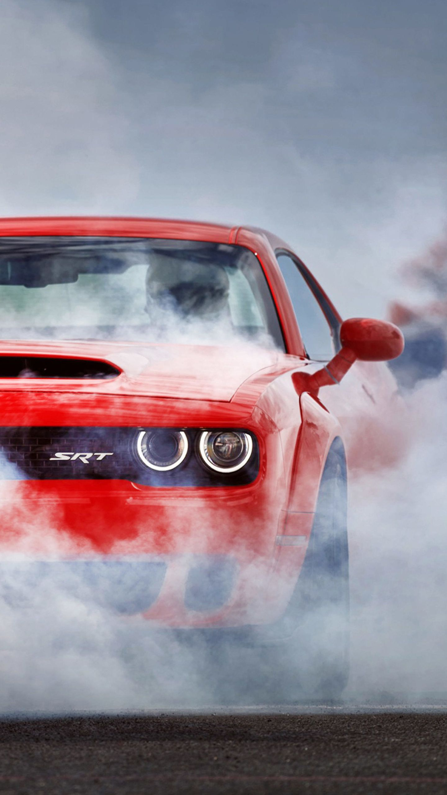 Red Dodge Challenger Hd Wallpaper In 2020 Dodge Challenger