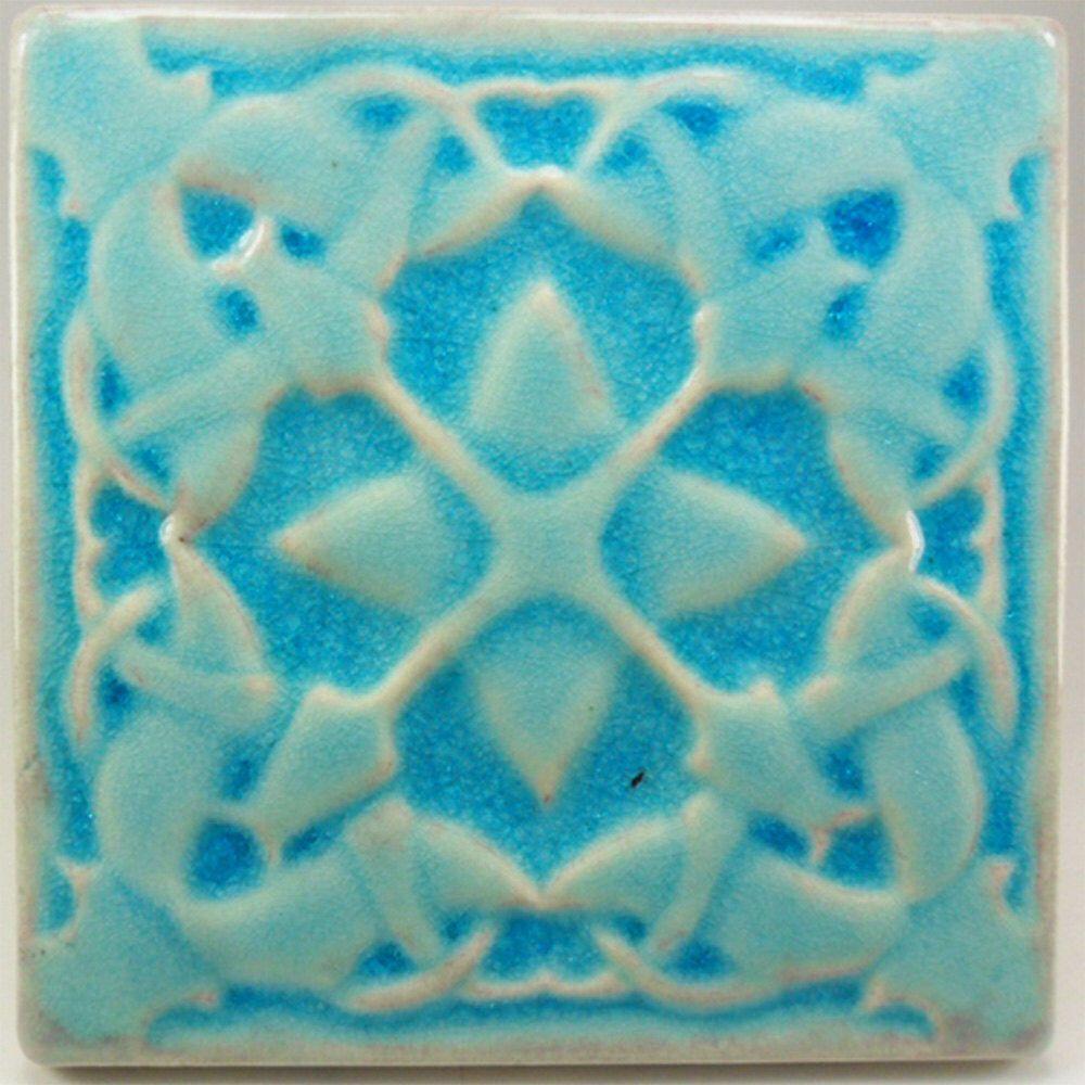 Ceramic tile, 6 x 6, wall tile, art tile, accent tile, kitchen tiles, backsplash tile, fireplace tile, handmade tile, kitchen backsplash by CampbellTileworks on Etsy https://www.etsy.com/listing/234474342/ceramic-tile-6-x-6-wall-tile-art-tile