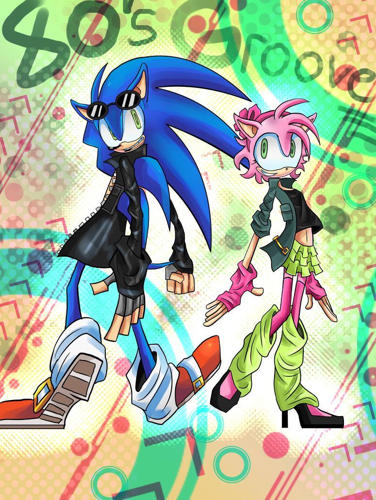 Sonic Xxx Amy Great sonic and amy - 80s groovepercypo on deviantart | sonamy