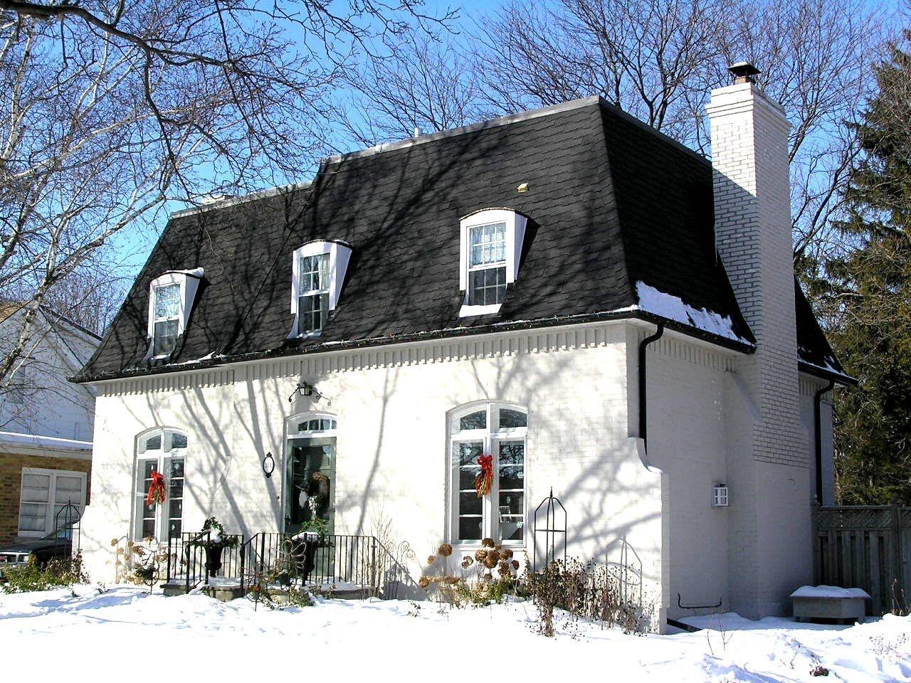Mansard roof and painted brick neo mansard pinterest for French mansard house plans