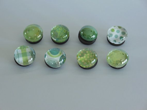 A Touch Of Irish Marble Magnet Set by SevenValleysArts on Etsy, $11.95