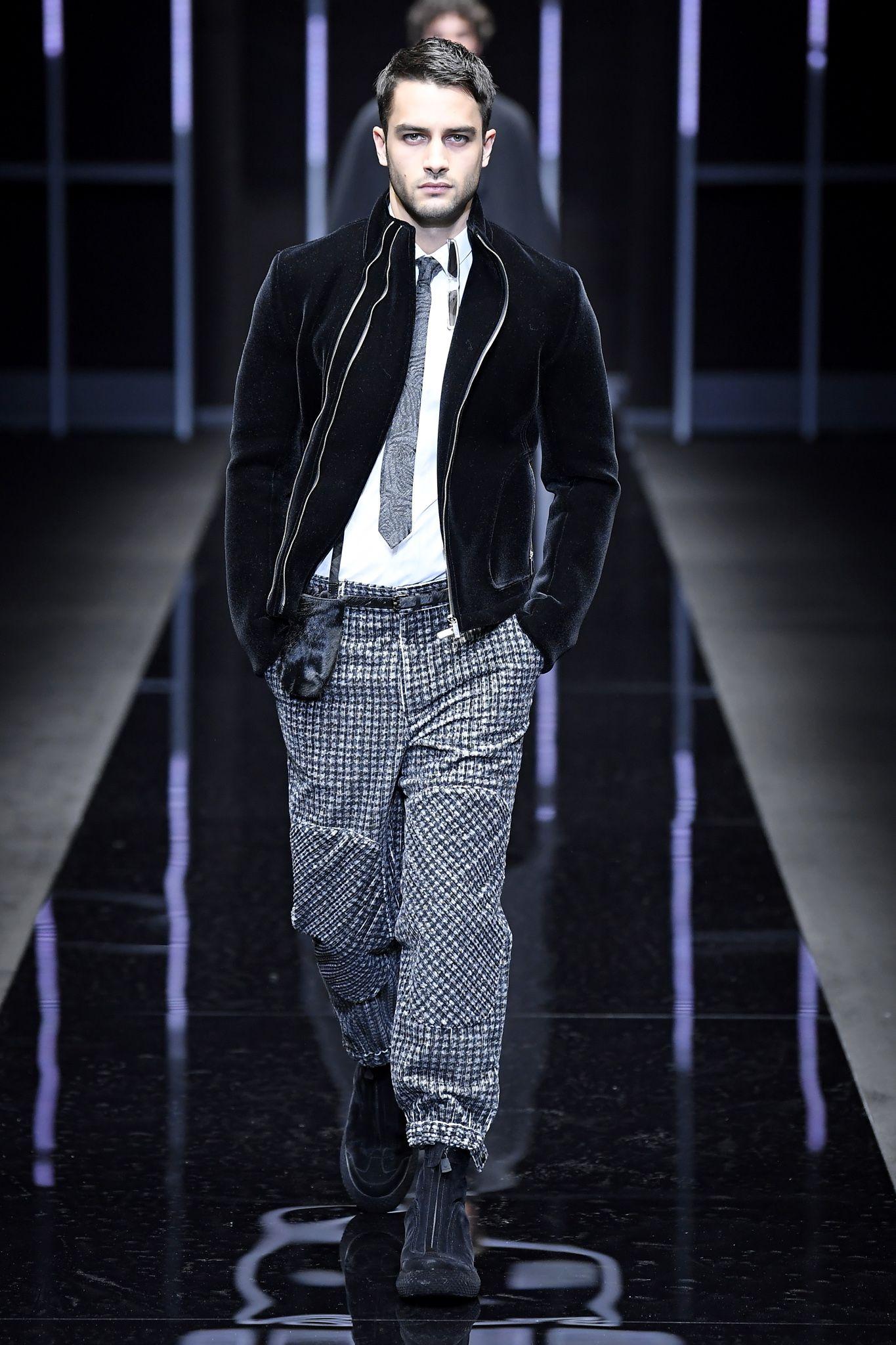 b5c4984c Emporio Armani Men's Fall 2019 | Style | Winter fashion casual ...