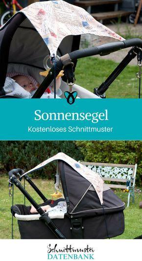 Photo of Sonnensegel und Aufhängung Kinderwagen