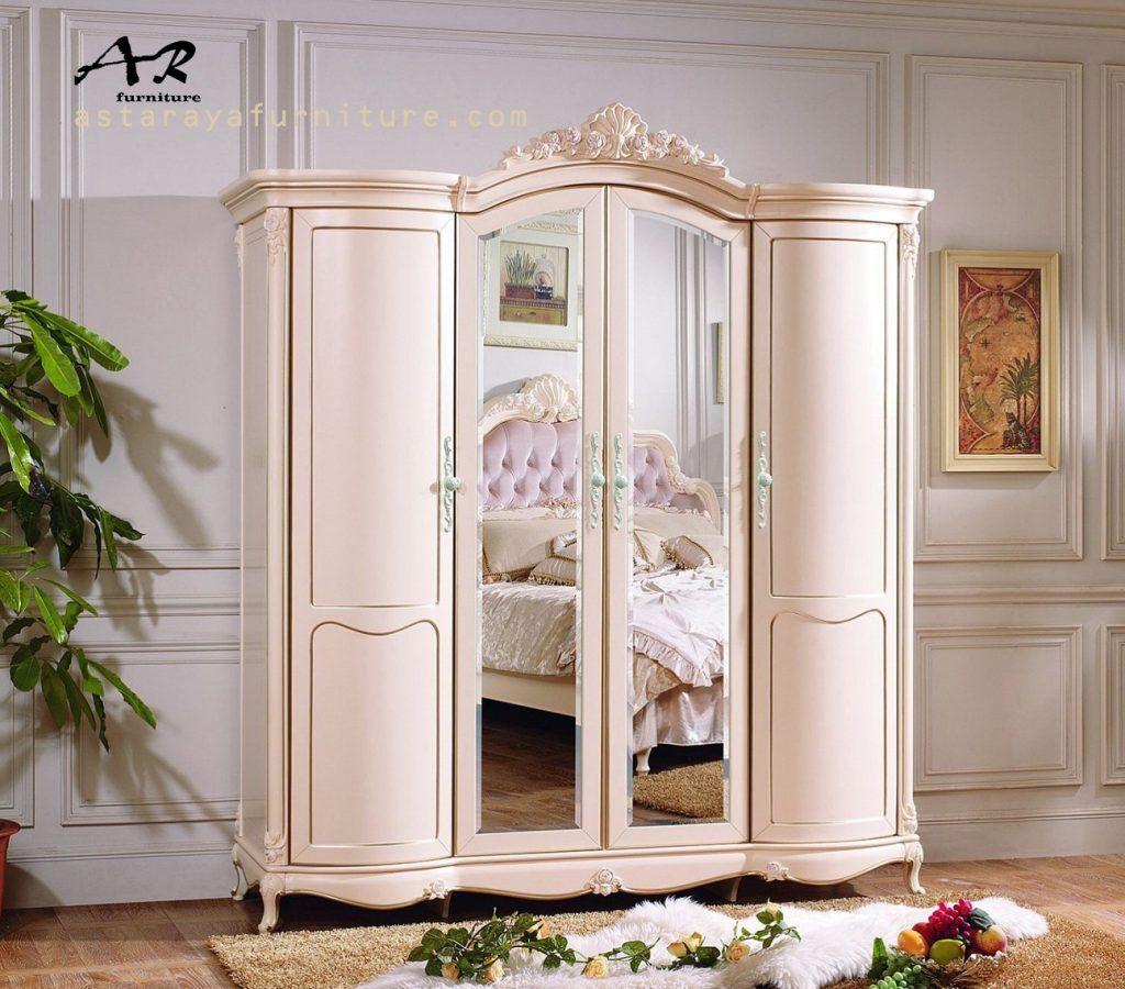 Lemari Pakaian Duco Furniture 4 Pintu Model Terbaru Info Detail
