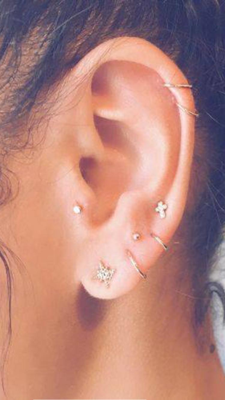 Cute lip piercing ideas  Pin by Abigail Shively on ears to hear  Pinterest  Piercings
