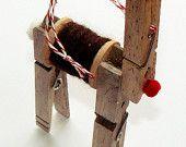 Handmade Christmas ornaments- free shipping!