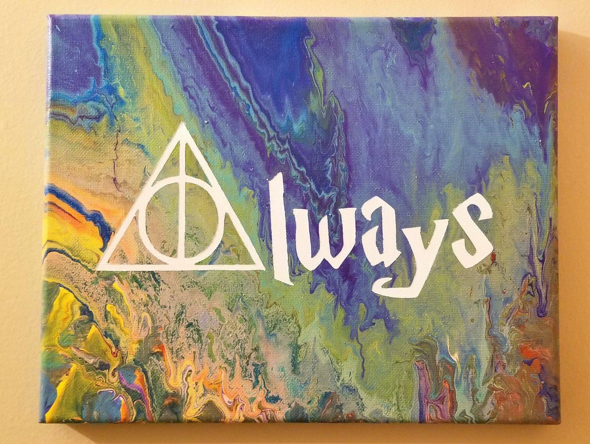 Hogwarts effect 2 canvas print or black framed ..... print