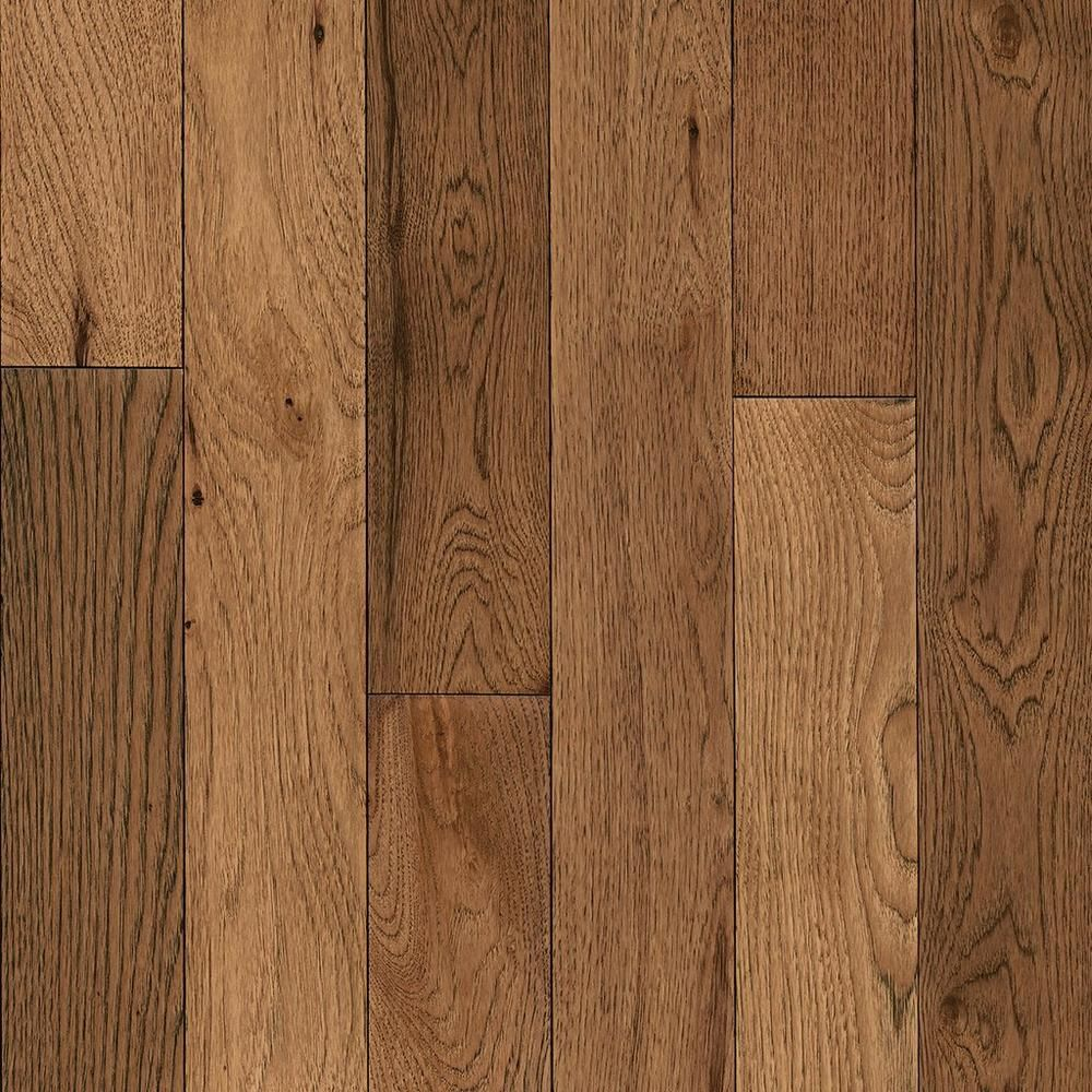Copper Canyon Hickory Hand Scraped Solid Hardwood Wood Floor