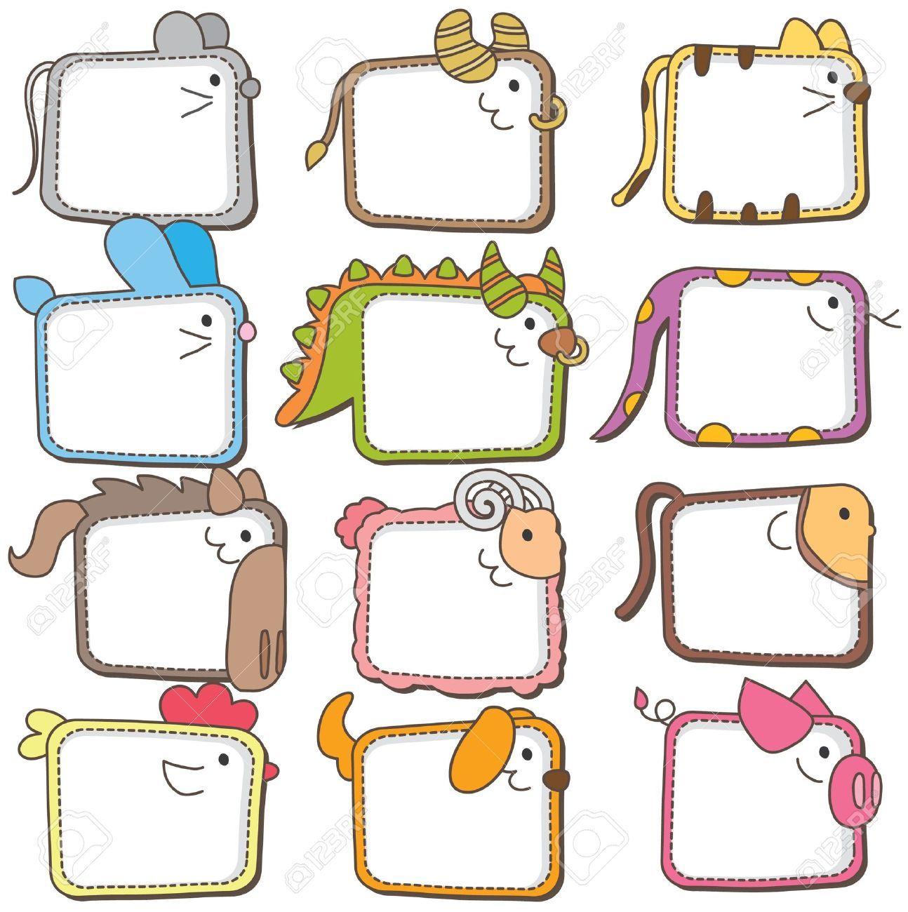 Individual Chinese Zodiac Animals Printable