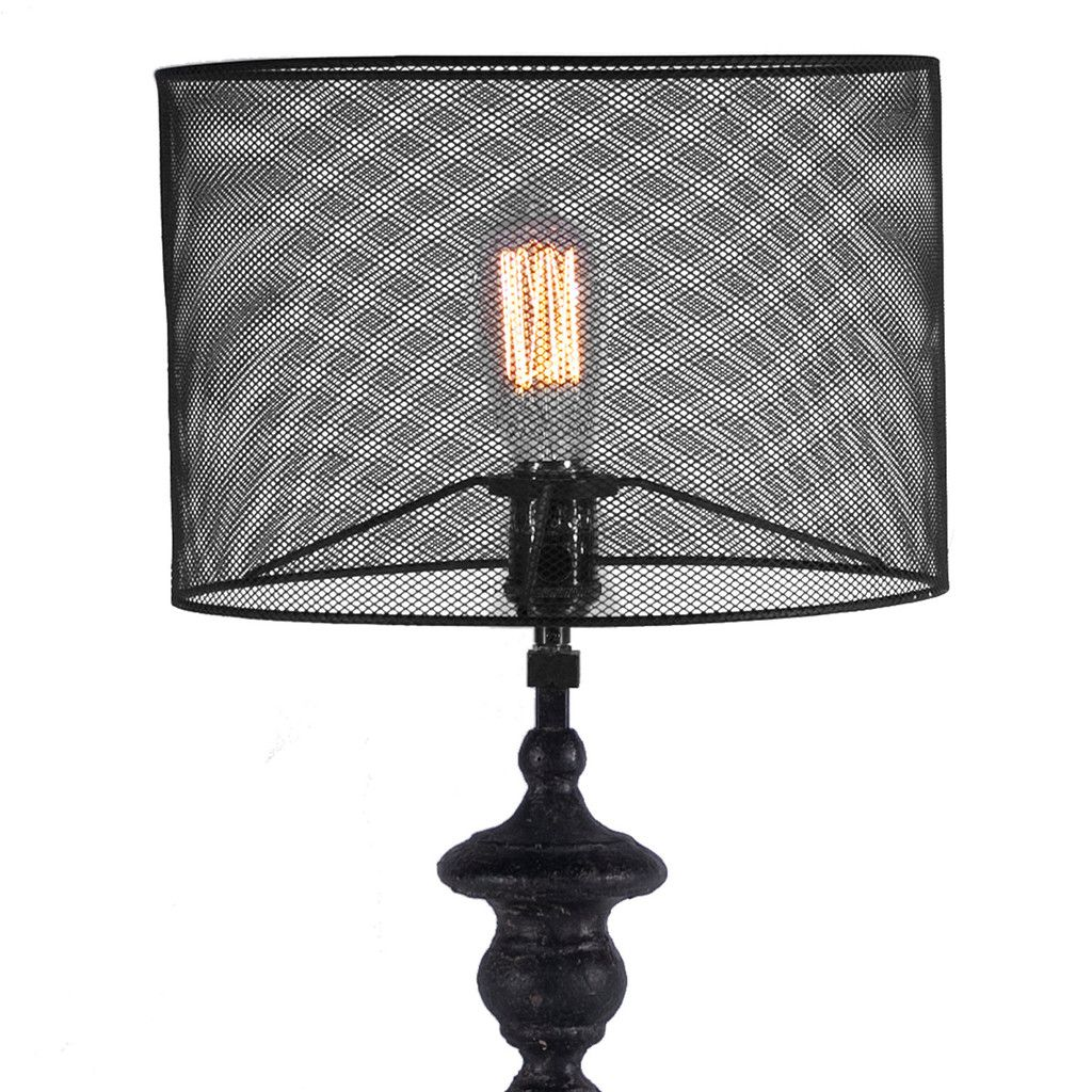 Metal Mesh Lamp Shade Google Search Lamp Table Lamp Caged Lamp