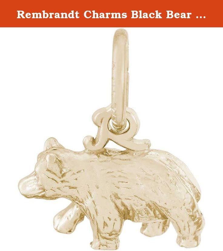 Rembrandt Charms Black Bear Charm