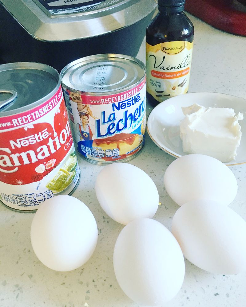 Flan Napolitano Lechera Recipe Flan Flan Recipe