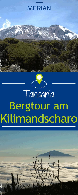 In sechs Tagen den Gipfel des Kilimandscharo in Tansania erklimmen: Eine Bergtour, die einem nicht nur die Luft zum Atmen nimmt, sondern auch deutlich die Folgen der Klimaerwärmung zeigt.