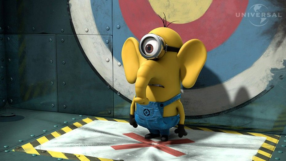 Minion elefante.
