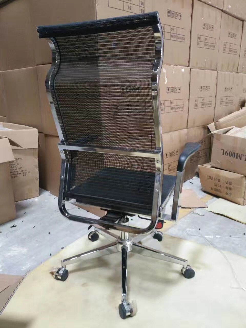 Ergonomic Mesh Humanity Office Chair MidBack Swivel Chair