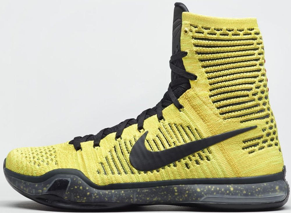 nike kobe 10 elite yellow gold