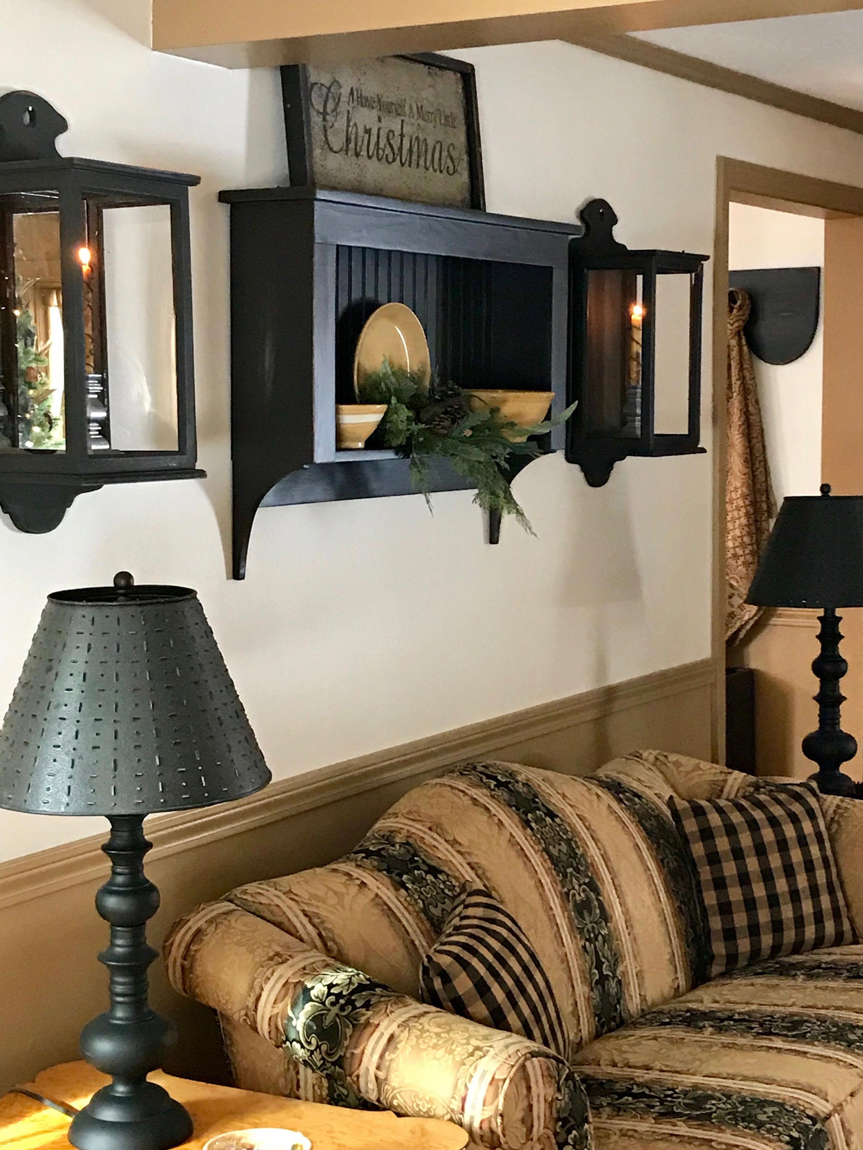 Primitive Décor #Primitivekitchen | Living room decor ...