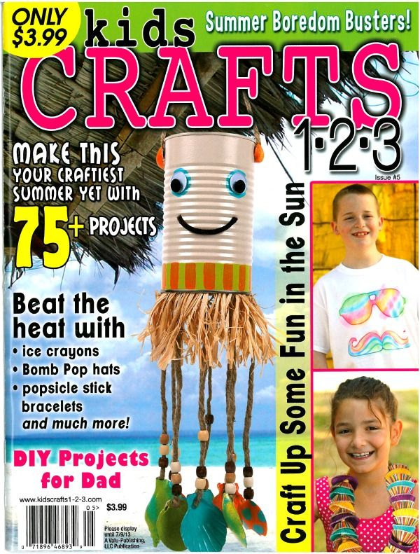 The Sitcom Is Featured In Kids Crafts 1 2 3 Magazine Pinterest