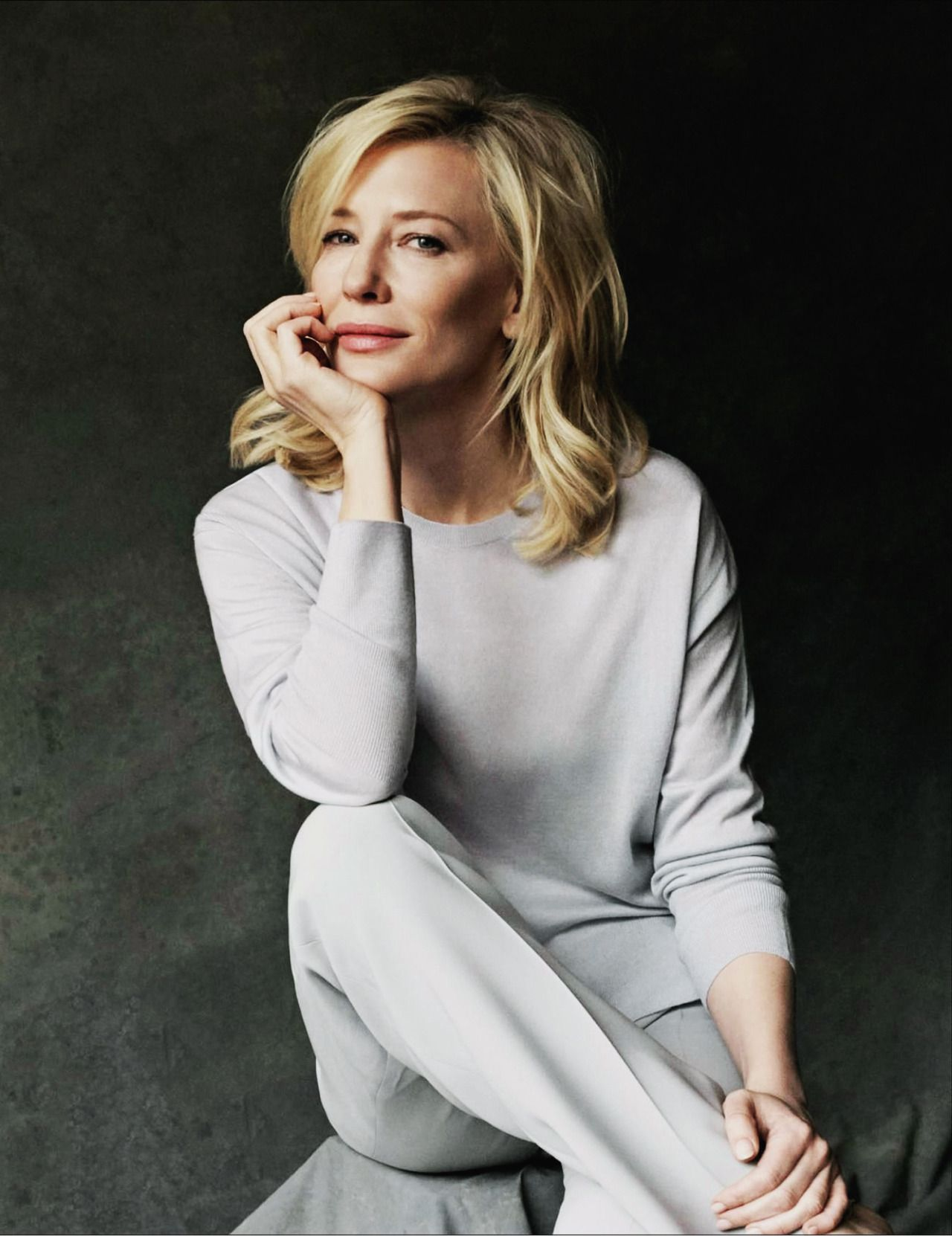 Cate Blanchett on Marie Claire Spain, October 2016 Issue ... Cate Blanchett