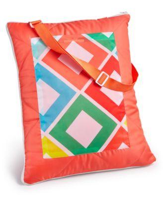 Martha Stewart Collection Carnival Diamond 60 X 72 Beach Blanket