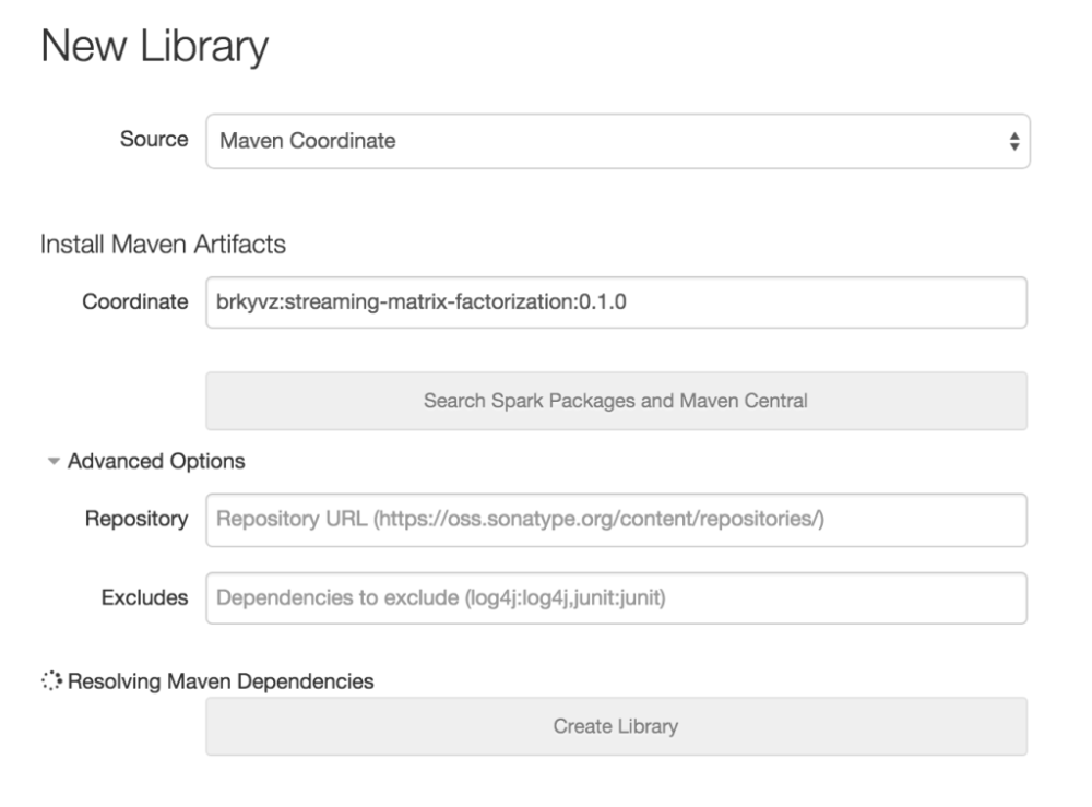 Using 3rd Party Libraries In Databricks Apache Spark Packages And