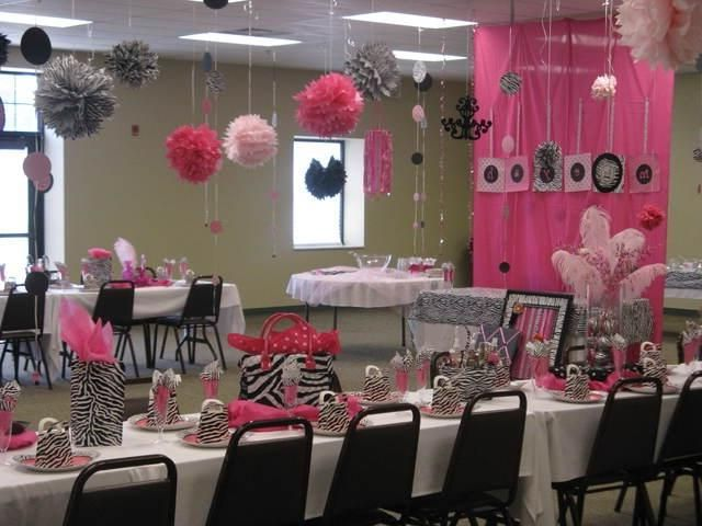Zebra baby shower decorations baby shower ideas for for Animal print baby shower decoration ideas