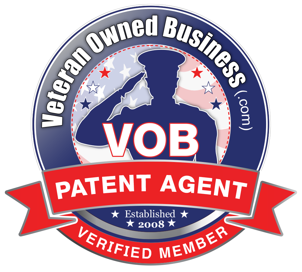 Veteran Owned Business Patent Agent Verified Member Badge Large Oval Veteran Owned Businesses News Vobeacon Veteran Owned Business Veteran Pr Agency