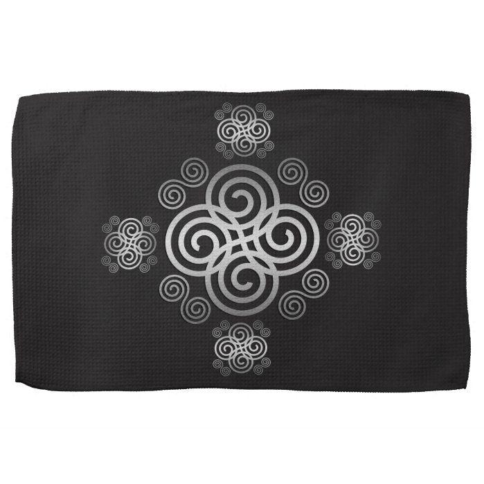 Photo of Decorative Celtic design. Towel