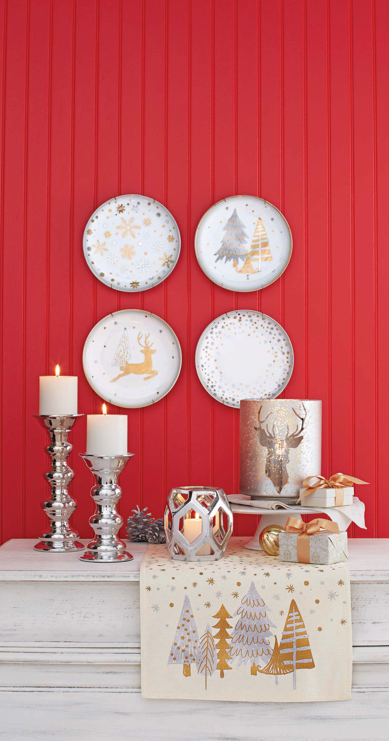better homes and gardens dinnerware, candles and candle