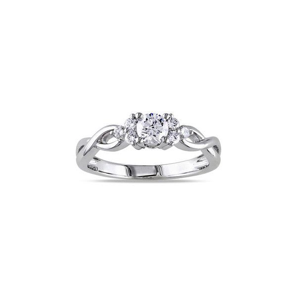 miadora promise ring liked on Polyvore featuring jewelry ...