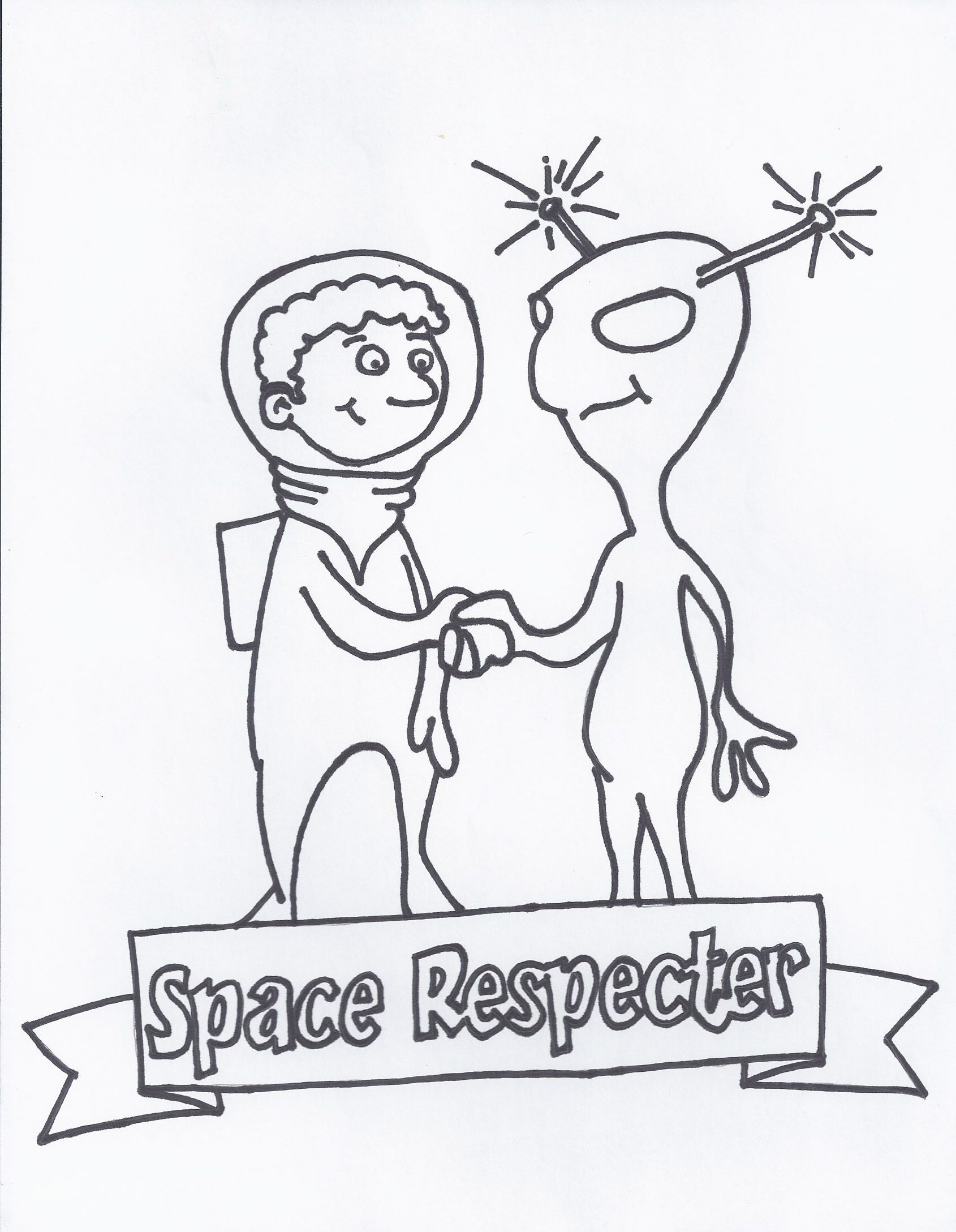 Space Respecter I Help You Pay Attention To And Respect