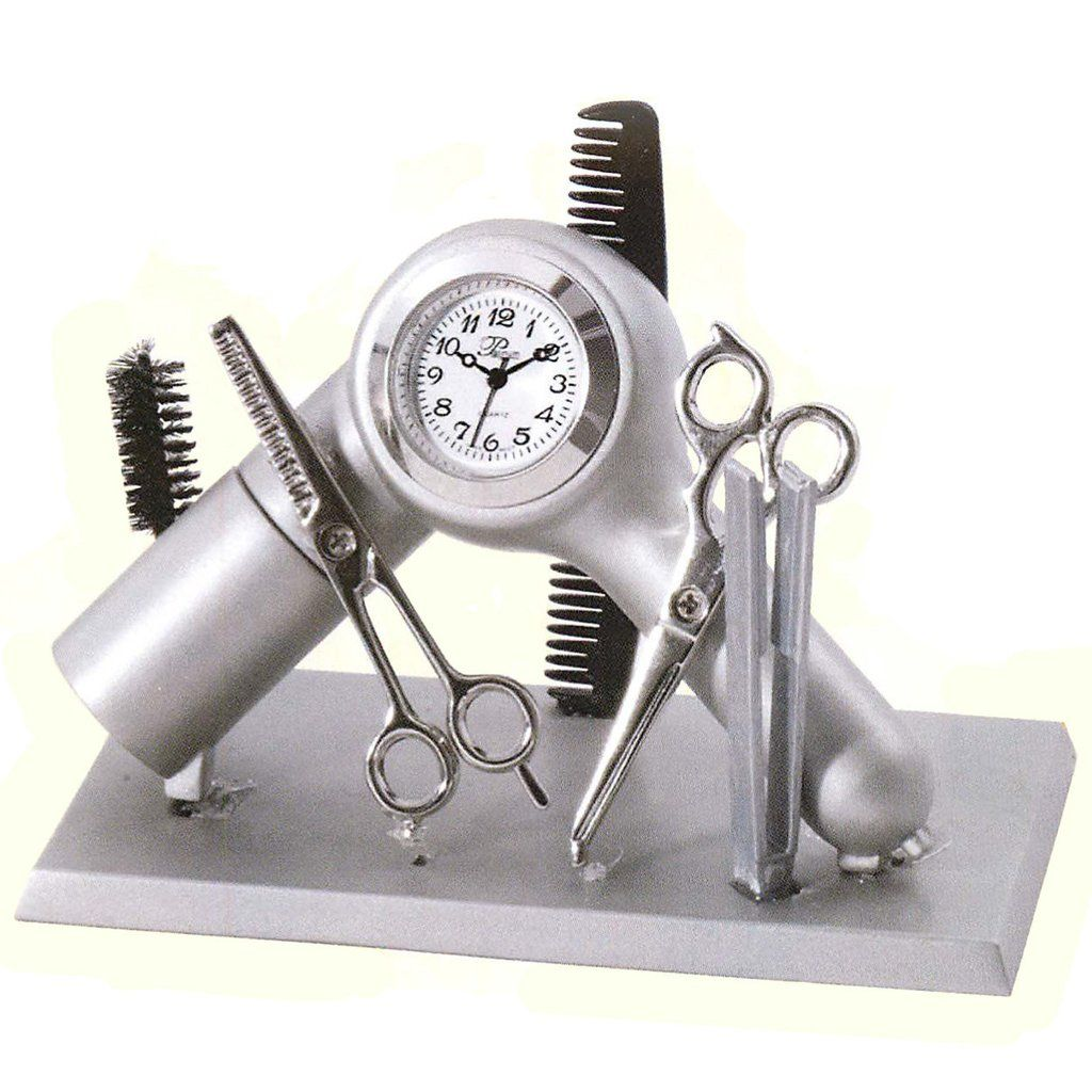 Hair dressers clock hair stylist gifts stylists gifts