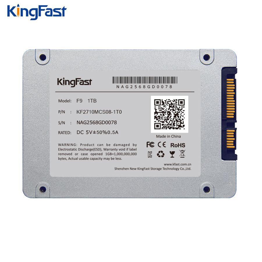 Kingfast F9 Brand 7mm Ultrim Metal 2 5 Internal 1tb Ssd Sataiii