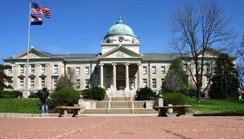 Academic Hall With It S Iconic Copper Dome On Semo Campus Missouri