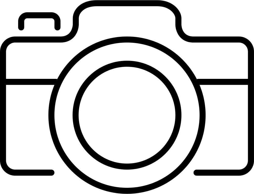 Camera Outline Icon Camera Outline Camera Logos Design Camera Logo