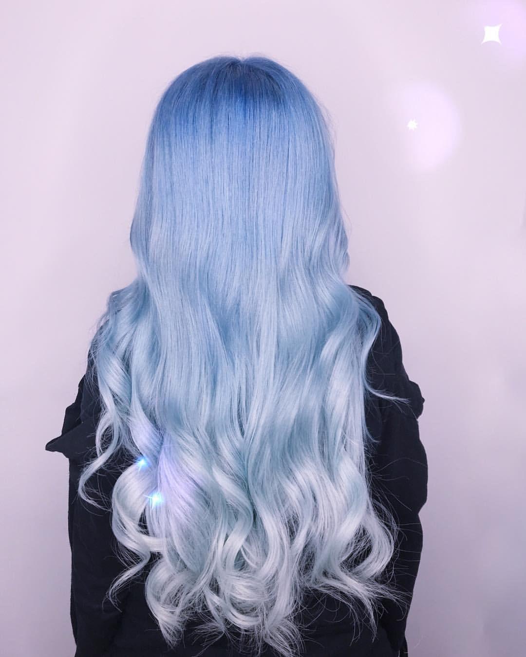 Pin By Jamie Meneses On Cute Hairstyles Arctic Fox Hair Color Fox Hair Dye Periwinkle Hair
