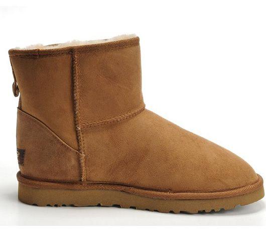 Men's Chestnut Classic Mini UGG Boots .The Christmas