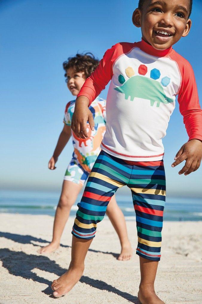 Boys Next Multi Rainbow Dino Sunsafe Two Piece Set (3mths-7yrs) - Red | Boys  swimwear, Boys swim shorts