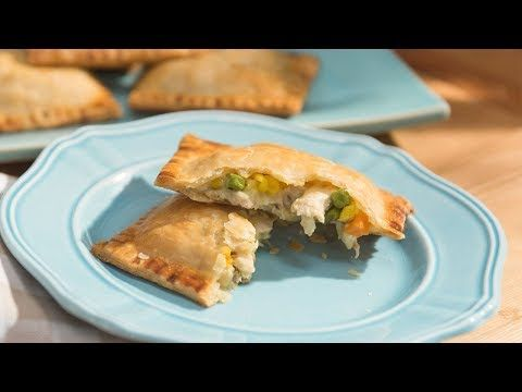 Jeffs chicken pot pie pockets food network youtube you tube jeffs chicken pot pie pockets food network youtube forumfinder
