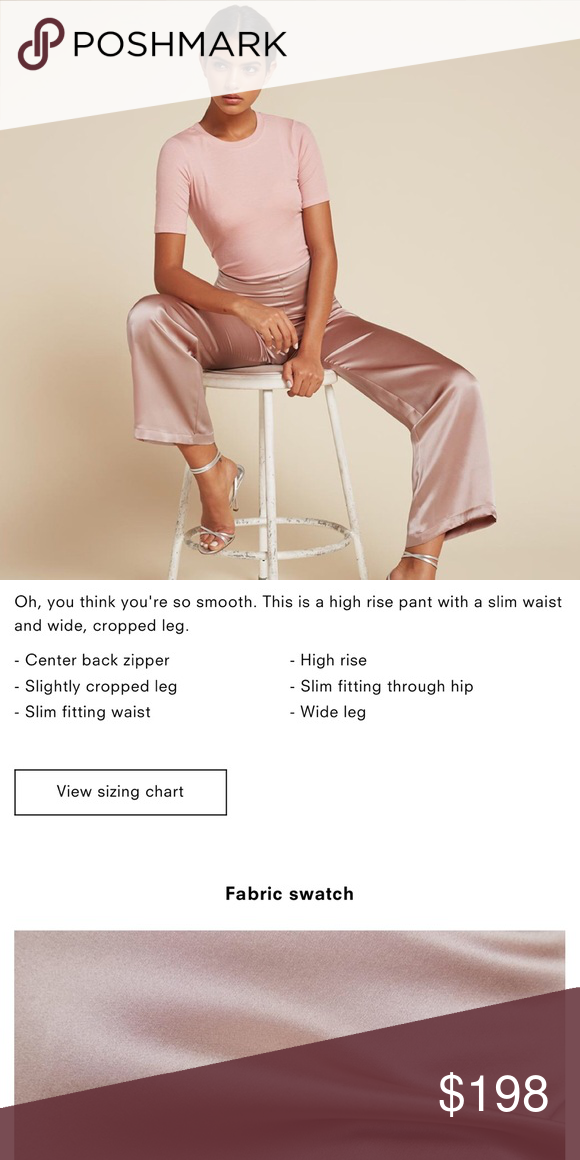 Reformation Aubrey Pants 💓 HP 💓 pics coming soon // super rare Reformation Pants