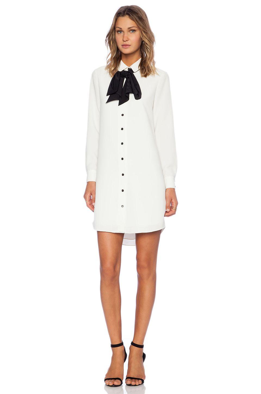 67977347146 kate spade new york Griffin Dress in Cream   Black