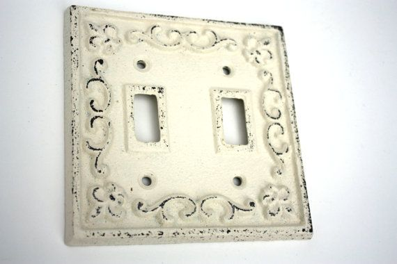 cast iron double switch plate