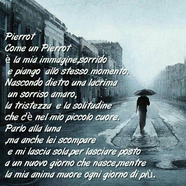 Bien connu Pierrot Come un Pierrot è la mia immagine,sorrido e piango allo  AV87